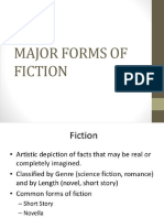 ARROYO Major Forms of Fiction