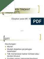 Desinfeksi Tingkat Tinggi (Dtt)