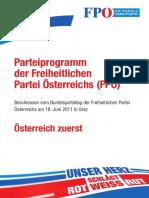 2011 FPÖ Parteiprogramm Web