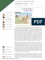 La segunda República _ HISTORIA DE VENEZUELA DE 1ER AÑO.pdf
