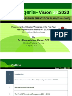 Nigeria 20-2020- PH National Implementation Plan Validation Workshop