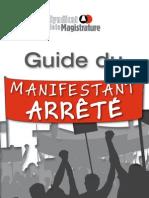 Guide Du Manifestant arrêté