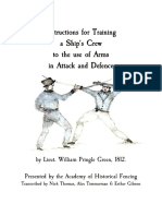 Instructions for Training a Ships Crew in the Use of Arms in Attack and Defence by Lieutenant William Pringle Green 1812