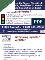 Introducing SigmaXL Version 7 - Aug 13 2014