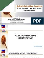 LATEST 2017 Administrative Discipline