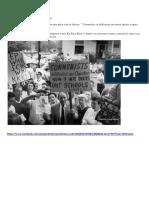 Protesto Contra Integração Racial, Em 1960 Nos EUA