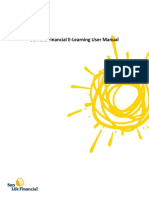Sunlife E-learning User Manual