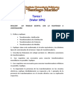 Tarea I - Tecnologia Electrica - 1er Corte - 10%