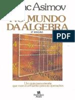 Isaac Asimov-No Mundo Da Álgebra-Francisco Alves (1989)