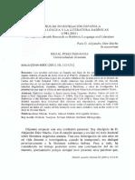 20 Años de Investigación Española Sobre La Lengua y La Literatura Rabínicas (1981-2001)