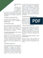 Estudo Dirigido AP2 Psicologia Organizacional = Administração Pública CEDERJ