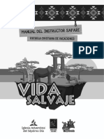 Manual Safari Vida Salvaje ECV 2020