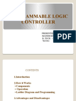 Programmable Logic controller (plc) PPT