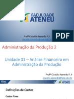Adm. Prod. 2 - Und 1-2 16.1 - Revisao