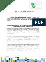 Proposición PNL sobre Empleo Joven