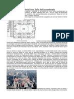 Comentario Santa Sofía de Constantinopla
