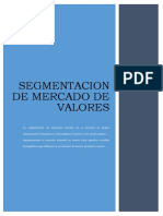 Segmentacion de Mercado de Valores