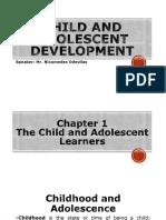 Child and Adolescent Development (93 Slides)