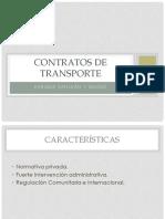 Contratos de Transportes