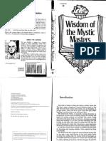 Joseph J. Weed - Wisdom of the Mystic Masters
