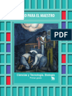 Libro Del Maestro Biologia Primer Grado