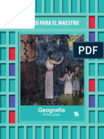 Libro Del Maestro Geografia Primer Grado