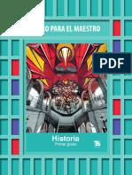 Libro Del Maestro Historia Primer Grado