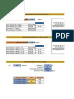 Calculo de Predimensionamiento en Excel