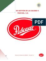 PROYECTO FINAL GESTIÓN DE LA CALIDAD II