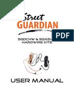 Street Guardian SGDCHW & SGX2HW User Manual