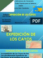 Expedición de Los Cayos