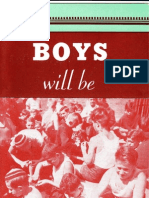 BOYS will be  MEN, International YMCA, around 1935