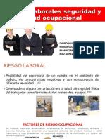 Riesgos Laborales Seguridad y Salud Ocupacional