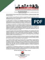 """17nov2019 - Comité Central – Sobre El """"Acuerdo Por La Paz y La Nueva Constitución"""""""