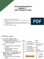 Lecture 14 Transport Protocols