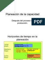 Planeación de la capacidad(3)
