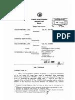 2. Dale Strickland vs. Punongbayan & Araullo, GR No. 193782, 210695