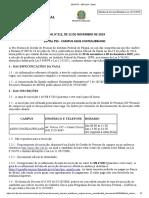 Edital 212 19 Contratação de Professor Substituto Filosofia