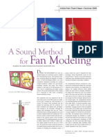 A Sound Method for Fan Modeling - Article - Fluent News