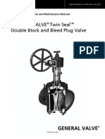 Valvula DBP Twin Seal - IOM - General Valves Cameron