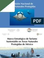 Marco Estrategico Turismo Sustentable Areas Naturales Protegidas Mexico