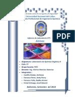 Informe 5 Organica II