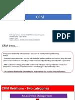 CRM 2019