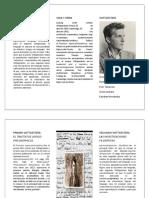 Diferencias Entre El Primer y El Segundo Wittgenstein