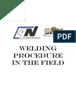 Welding Procedure in the Field Manual
