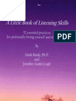A Little Book of Listening Skills