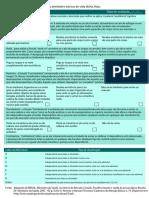 Formulário de Avaliação Das Atividades Básicas de Vida Diária - Katz (AVD)
