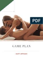 Game Plan Cheat Sheet