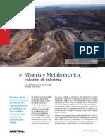 Minería y Metalmecánica
