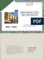Rehabilitación Del Lenguaje-HIGA Evita-24.09.2019